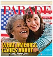 Parade Magazine Survey: Americans giving generously despite recession.